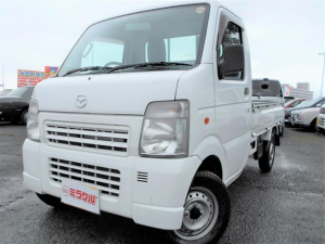 マツダ スクラムトラック KCスペシャル3方開 5速MT エアコン ワンオーナー