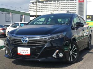 トヨタ SAI S Cパッケージ 純正SDナビ コーナーセンサー
