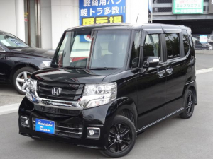 ホンダ N-BOXカスタム G SSブラックスタイルパッケージ ドラレコ 延長保証対象車