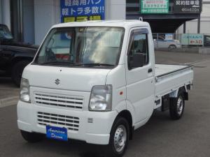 スズキ キャリイトラック KCエアコン・パワステ 4WD エアコン パワステ 5速ミッション車
