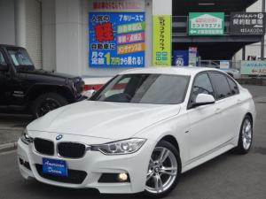 BMW 3シリーズ 320d Mスポーツ クリーンディーゼルターボ 8速AT ブラックレザーシート シートヒーター パワーシート シートメモリー 純正ナビ コンフォートアクセス ミラーETC 純正18インチAW バックモニター パドルシフト