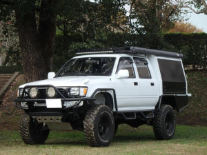 トヨタ ハイラックスピックアップ ダブルキャブ SSR-X オーバーランダー仕様 キャリア