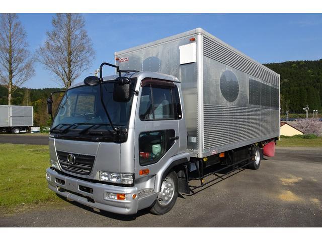 4tワイド アルミバン 大型トラックやバス、特殊車両は豊富な在庫のシモイデ車輌にお任せ下さい!