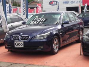 BMW 5シリーズ 525i HIDライト 純正DVDナビ ETC ディーラー車