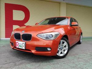 BMW 1シリーズ 116i 当社管理ユーザー下取り車 1.6ターボ 純正HDDナビ フルセグTV DVD Bカメラ ETC アイスト EGプッシュスタート バイキセノンヘッドライト フォグ 純正16インチAW リアフィルム施工