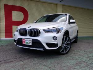 BMW X1 xDrive 18d xライン 2.0ディーゼルターボ 4WD 純正HDDナビ フルセグTV Bカメラ ソナー 衝突軽減 歩行者警告 車線逸脱警告 19インチAW 黒本革シート パワーシート シートH スマートキー パワーバックドア