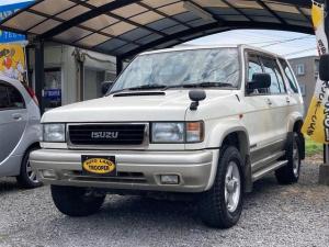 いすゞ ビッグホーン XSプレジールII スペシャルエディション 特別仕様限定車 2オーナー 記録簿 インタークーラーターボ ディーゼル