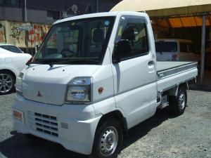 三菱 ミニキャブトラック Vタイプ フロア5速 エアコン 三方開