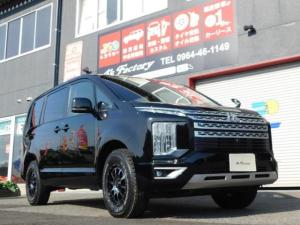 三菱 デリカD:5 G パワーパッケージ ディーゼル ターボ 4WD 禁煙 パドル8速AT クルーズコントロール ナビTV バックモニター Bluetooth ETC スマートキー パワーバックドア シートカバー シートヒーター