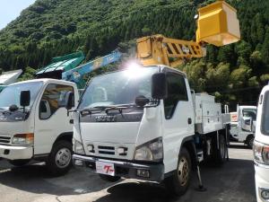 いすゞ エルフトラック 高所作業車 最大積載量500kg タダノクレーン フル装備