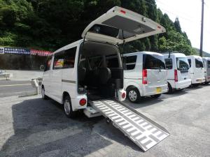 三菱 タウンボックス 福祉車両 スローパー 車椅子移動車 キーレス フォグランプ