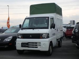 三菱 ミニキャブトラック パネルバン 軽運送仕様 幌ルーフ エアコ 荷台スライドドア