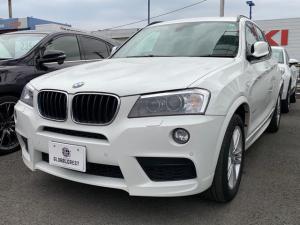 BMW X3 xDrive 20d Mスポーツ 純正HDDナビフルセグTV/バックモニター/TVキャンセラー/キセノンライト・コンフォートアクセス/全方位カメラ/クルーズコントロール/ハーフレザーシート/電動トランク/スマートキーレス