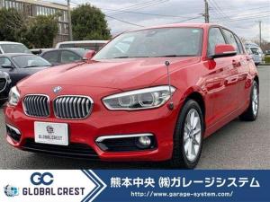 BMW 1シリーズ 118i スタイル LEDヘッドライト/パスクロスコンビレザーシート/ドライビングアシストパッケージ/HDDナビ&バックモニター/クルーズコントロール/純正16インチアロイホイル/ルームミラー内蔵ETC/1オーナー車
