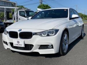 BMW 3シリーズ 340i Mスポーツ HDDナビフルセグTV&バックカメラ/ブラックレザーシート/シートヒーター/HiFiスピーカー/18インチアロイホイル/パドルシフト/LEDヘッドライト/PDC/アクティブクルーズコントロール