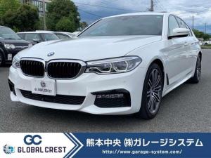 BMW 5シリーズ 530i Mスポーツ 純正HDDナビフルセグTVバックモニター&全方位カメラ/ブラックレザーシート/サンルーフ/LEDヘッドライト/シートヒーター/19インチアルミホイル/パワートランク/Mスポーツサスペンション&ブレーキ