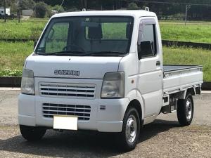 スズキ キャリイトラック KU 2WD エアコン 5速マニュアル車 車検令和3年9月