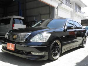 トヨタ セルシオ eR仕様 車高調 19インチAW 黒本革 サンルーフ エアロ