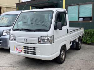 ホンダ アクティトラック SDX AC 5MT パワステ 作業灯 荷台ゴムマット 三方開 2名乗り ホワイト