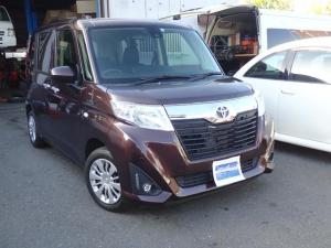 トヨタ ルーミー X S レンタカーアップ スマートアシストII SDナビTV Bluetooth対応 バックカメラ スマートキー パワースライドドア シートヒーター ETC