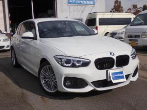 BMW 1シリーズ 118d Mスポーツ エディションシャドー ディーゼルターボ 黒革パワーシート シートヒーター アダプティブクルーズコントロール HDDナビ バックカメラ Bluetooth対応 DVD再生 ETC