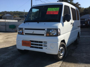 三菱 ミニキャブバン CD パートタイム4WD ハイルーフ オートマ