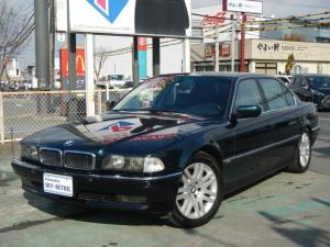 BMW 7シリーズ 750iL サンルーフ 電動レザーシート ETC キーレス アルミホイール 12気筒