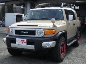 トヨタ FJクルーザー カラーパッケージ ナビ ドライブレコーダー ETC ソナー バックカメラ
