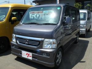 ホンダ バモス Lターボローダウン CD ターボ車 4WD Wエアバック