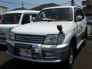 トヨタ ランドクルーザープラド TXリミテッド ナビ ETC 4WD
