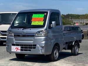 トヨタ ピクシストラック エクストラSAIIIt 4WD 4AT LEDヘッドライト LEDフォグ PS PW キーレス  SDナビTV Bluetooth接続 衝突軽減ブレーキ 荷台作業灯 リア4枚リーフスプリング