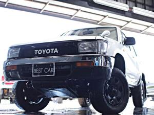 トヨタ ハイラックスサーフ SSR 希少ナローボディ 手動式窓 背面レス
