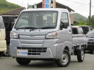 ダイハツ ハイゼットトラック スタンダードSAIIIt ブレーキサポート 4WD マニュアル車 エアコン パワステ フロアマット 荷台マット アオリゴム ABS 禁煙車 エアバック
