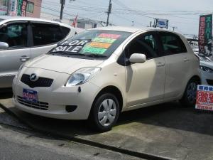 トヨタ ヴィッツ F CVT キーレス CD エアコン ABS ワンオーナー