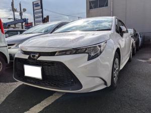 トヨタ カローラ G-X ナビ ETC バックカメラ Bluetooth クルーズコントロール LEDヘッドライト オートライト オートエアコン スマートキー レーンアシスト 衝突被害軽減システム 電動格納ミラー