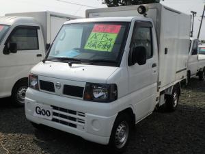 日産 クリッパートラック 冷蔵冷凍車 5MT エアコン パワステ エアバッグ