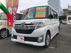 ダイハツ タント カスタムX SA ナビ ワンセグ オートライト LED
