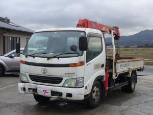 トヨタ ダイナトラック ロング 2t積載 2.9t吊り4段クレーン294RS ラジコン付 6速マニュアル 4.9Lディーゼル