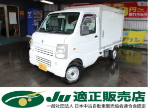 スズキ キャリイトラック 保冷車 パワステ エアコン FAT 2WD