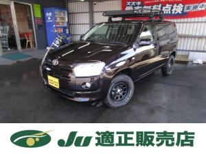 トヨタ サクシード TX 2インチリフトアップ M/Tタイヤ クロスバー ルーフラック