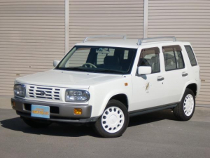 i日産 ラシーン タイプL 4WD CD ETC フロアAT AC PS PW