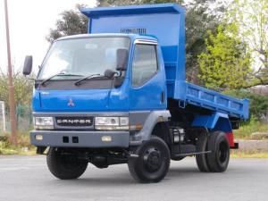 三菱ふそう キャンター 2t 高床強化ダンプ 4WD