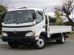 トヨタ ダイナトラック 2tワイドロング 全低床 平ボディー ターボ車