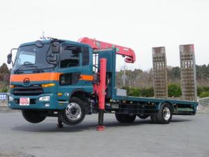UDトラックス コンドル 重機運搬車 6.2t積載 3段フックイン・ラジコン