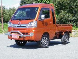 ダイハツ ハイゼットトラック トラック660ジャンボ 3方開 4WD リフトアップ 社外15インチアルミ