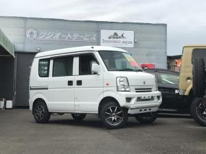 スズキ エブリイ PA 4WD 2インチリフトUP 社外新品アルミ・タイヤ