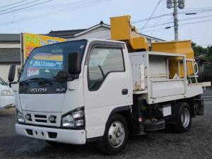 いすゞ エルフトラック 高所作業車 アイチ バケット200kg 8m