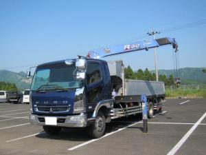 三菱ふそう ファイター タダノ4段ラジコン 積載6600kg ターボ270馬力