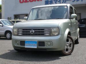 日産 キューブキュービック EX ワンオーナー車 7人乗りベンチシート 取説・整備手帳付