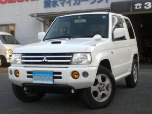 三菱 パジェロミニ 4WD インタークーラーターボ HDDナビ フルセグ